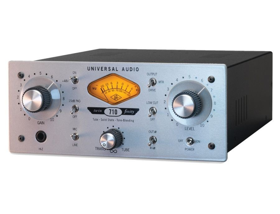 Picture of Universal Audio 710 Twin-Finity Microphone Preamp